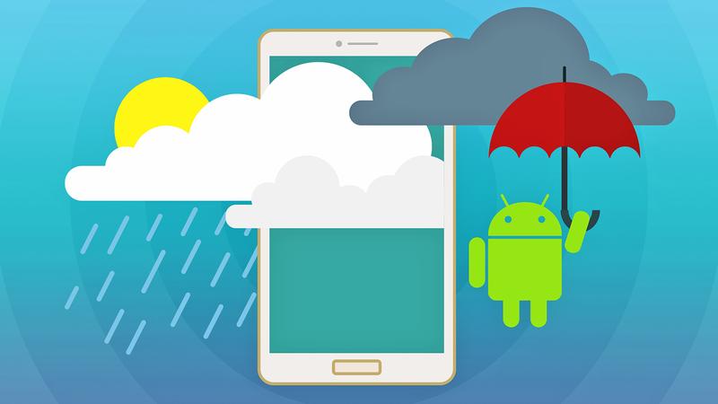 Приложение прогноза погоды для Android за один урок