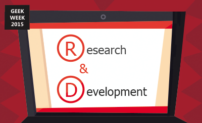 R&D (research and development)