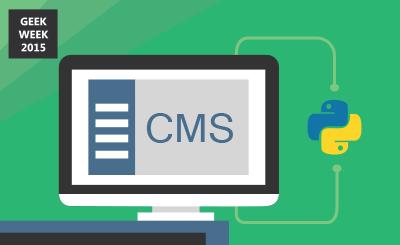CMS written in Python
