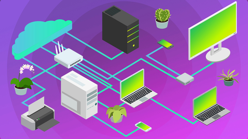Проектирование сети для небольшой фирмы