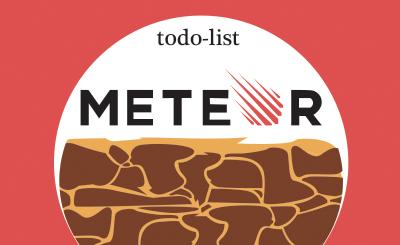 Движение Meteor'а, создаем todo-list